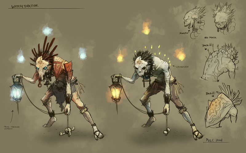 Witchdoctor Design by KayouVirus