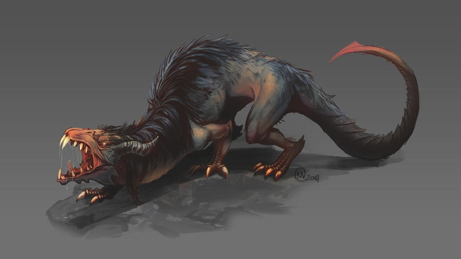 Cave Dragon by KayouVirus