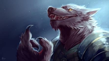 Werewolf Soldier by KayouVirus