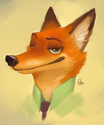Nick Wilde by KayouVirus