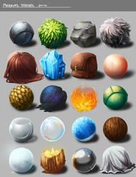 Material Studies by KayouVirus