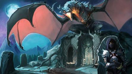 Dragon Temple by KayouVirus