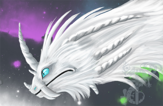 HTTYD White Dragon by yamilink