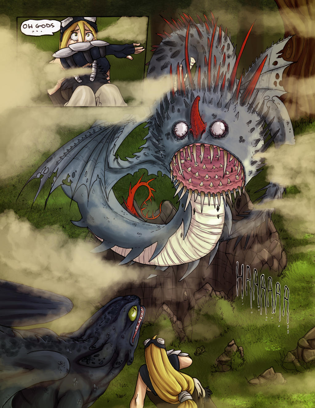 How to train your dragon ireth and vespera fable comics 98 98 whispering death ccuart Choice Image