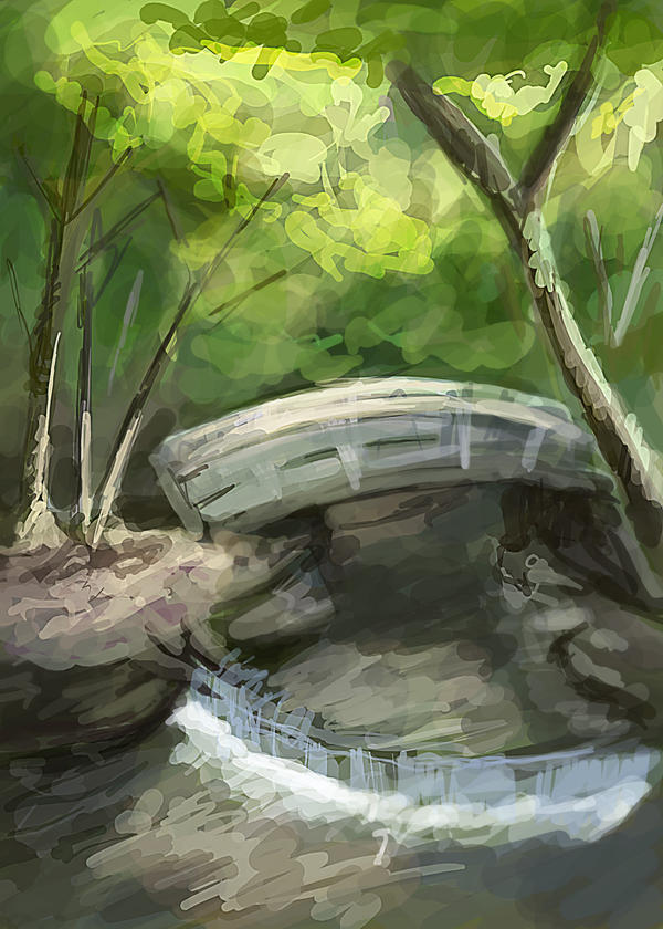 Fillmore River by VidPen