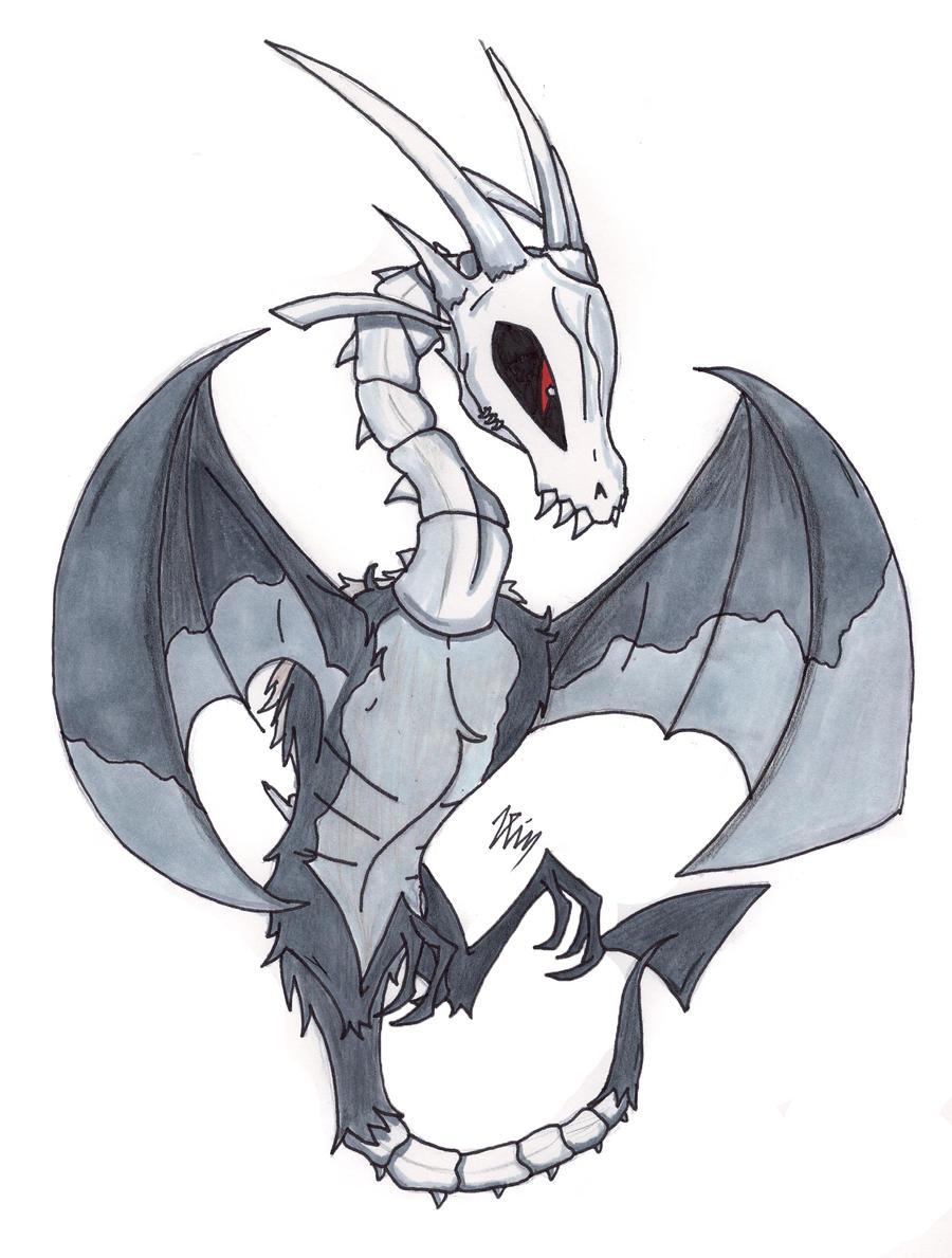 Chibi Bone Dragon by Visoris