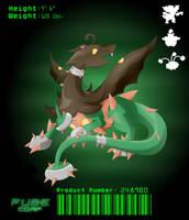 Pumpkathorn Dragon by Visoris