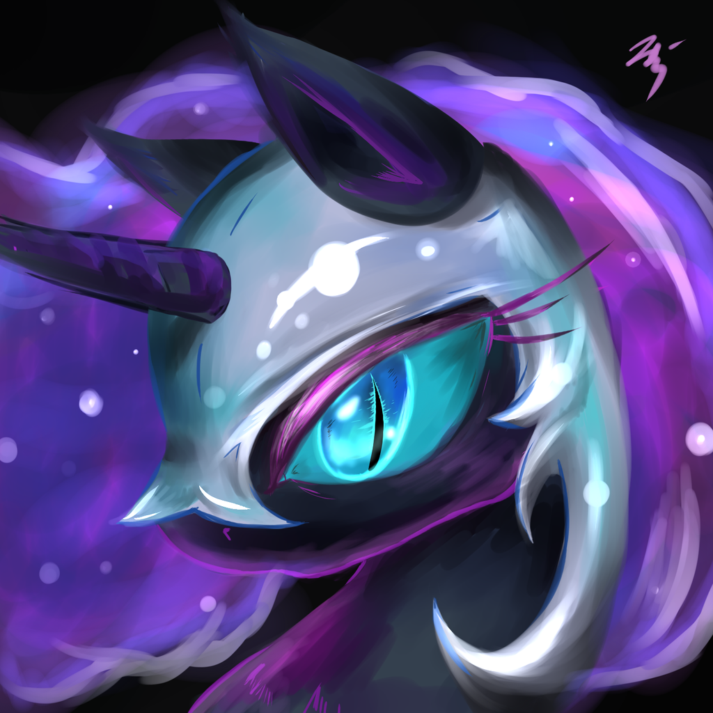 Nightmare Moon! by Visoris