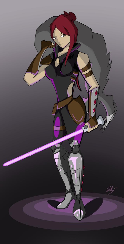 Jedi Anuja by Visoris