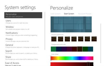 Personalize Start Screen