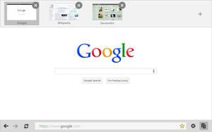 Google Chrome Inmersive .Metro. by arcticpaco