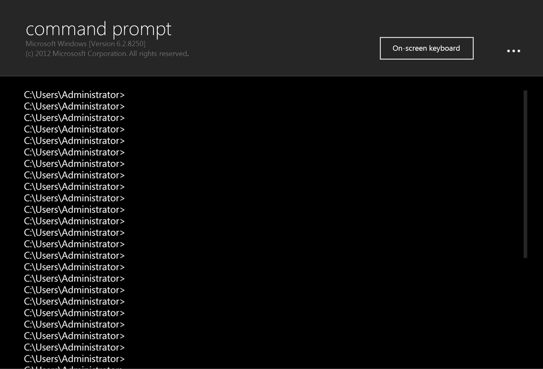 Command Prompt by arcticpaco