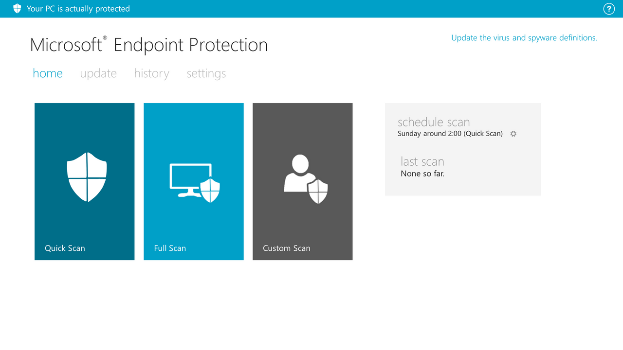 Microsoft Endpoint Protection by arcticpaco