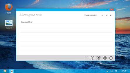 Notepad 8.1
