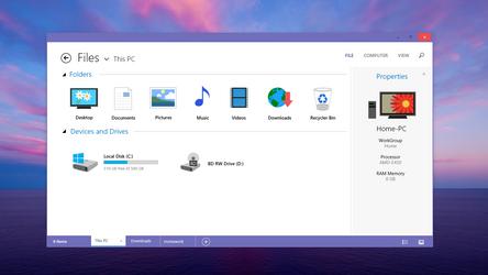 File Explorer by arcticpaco
