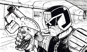Judge Dredd,sewer patrol!