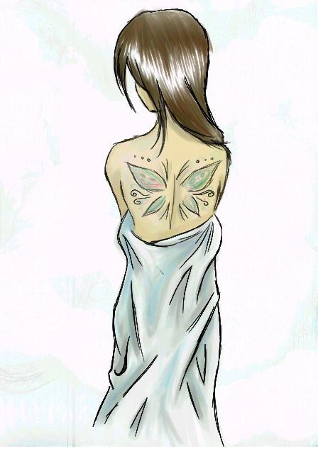 Tatooed Girl by Punxter