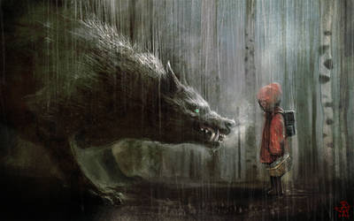 Manuhell-red-riding-hood by manuhell