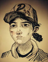 Clementine Sketch by JonGon