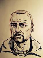 Pete Sketch by JonGon