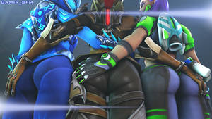 Sombra butts by GAMIR-GTA