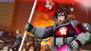 Mei fights for Hong Kong