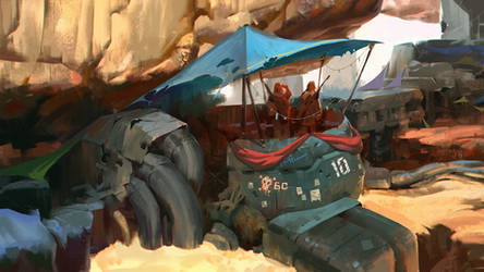 Rust Bucket 2/2 by BIG-A7