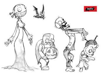 Walking Halloween part01 by Hieldjo