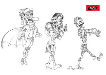 Walking Halloween part05 by Hieldjo