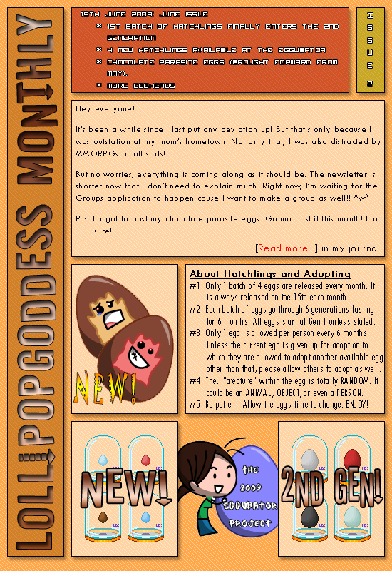 LollipopGoddess Monthly 2 by LollipopGoddess