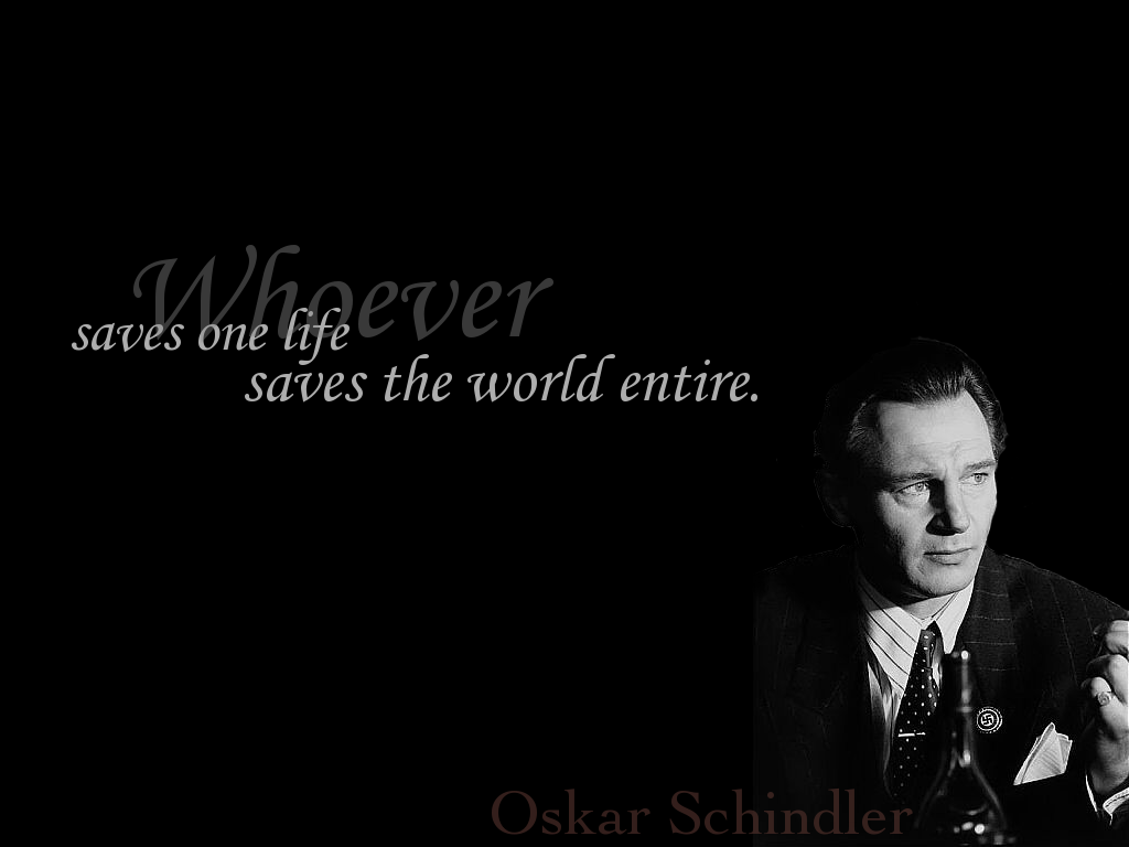 oskar schindler and schindlers list essay Schindler's list, its one of the most well shot and acted films of all time,  for  oskar schindler: 'he who saves one life, saves the whole world'.