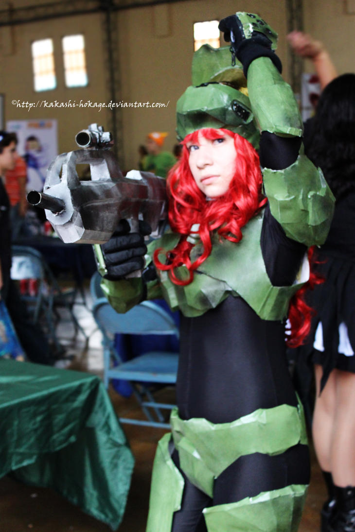 Halo is Redhair by FloeSefar