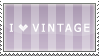 I love vintage stamp by Leafbreeze7