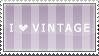 I love vintage stamp by Leafbreeze7