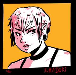 SW// Kou MASUDA aka Kumadori by KoeElfen