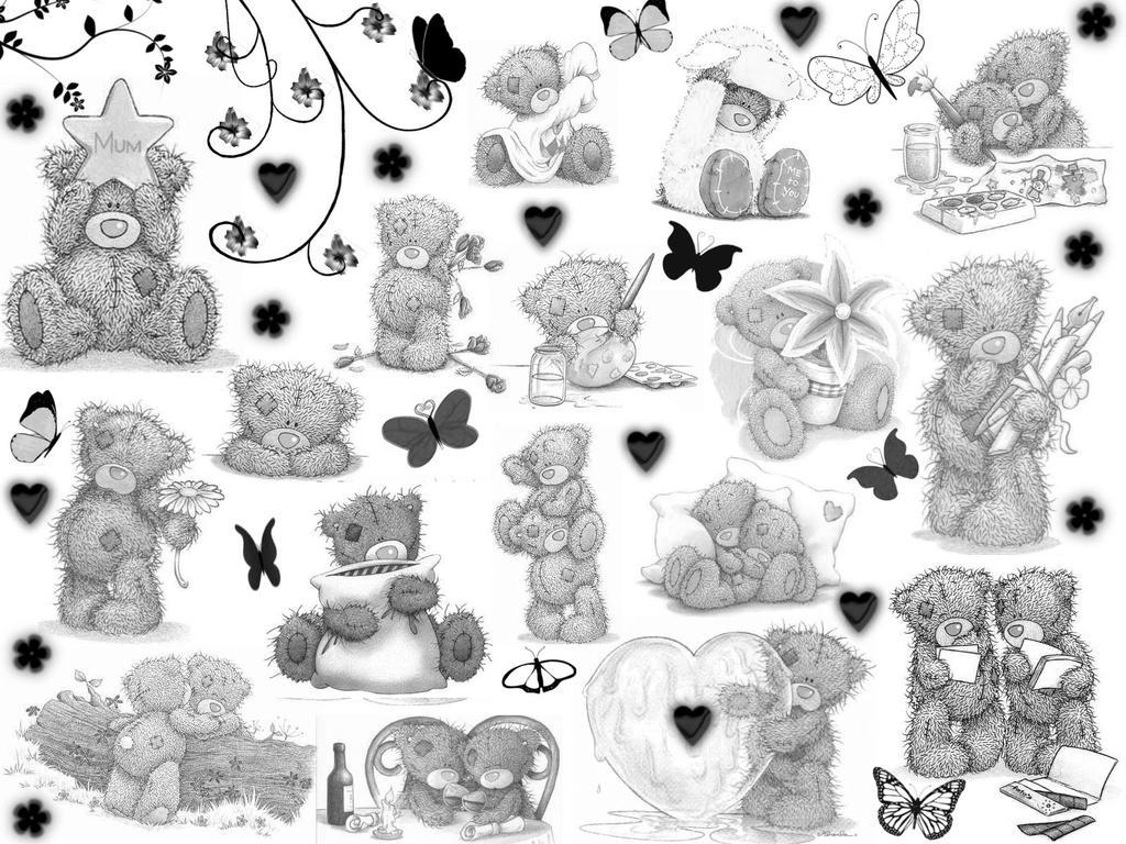 Wallpaper Tatty Teddy Wallpaper