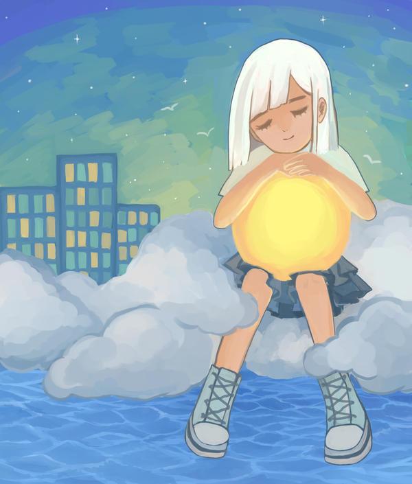 my sun by blueskyplayground