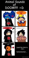 A Naruto comic.:implied yaoi:.