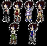 Kingdom Hearts X Outfits
