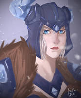 Oh look! It's another fan art of Sejuani by FurutaArt