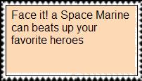 Space Marine Stamp by masonicon