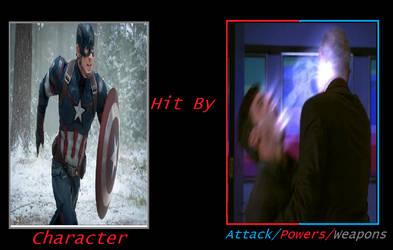 what if Arthur powerdrains MCU Cap by masonicon