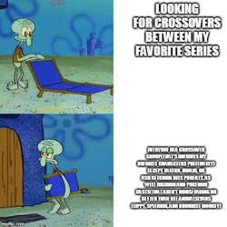my squidward meme