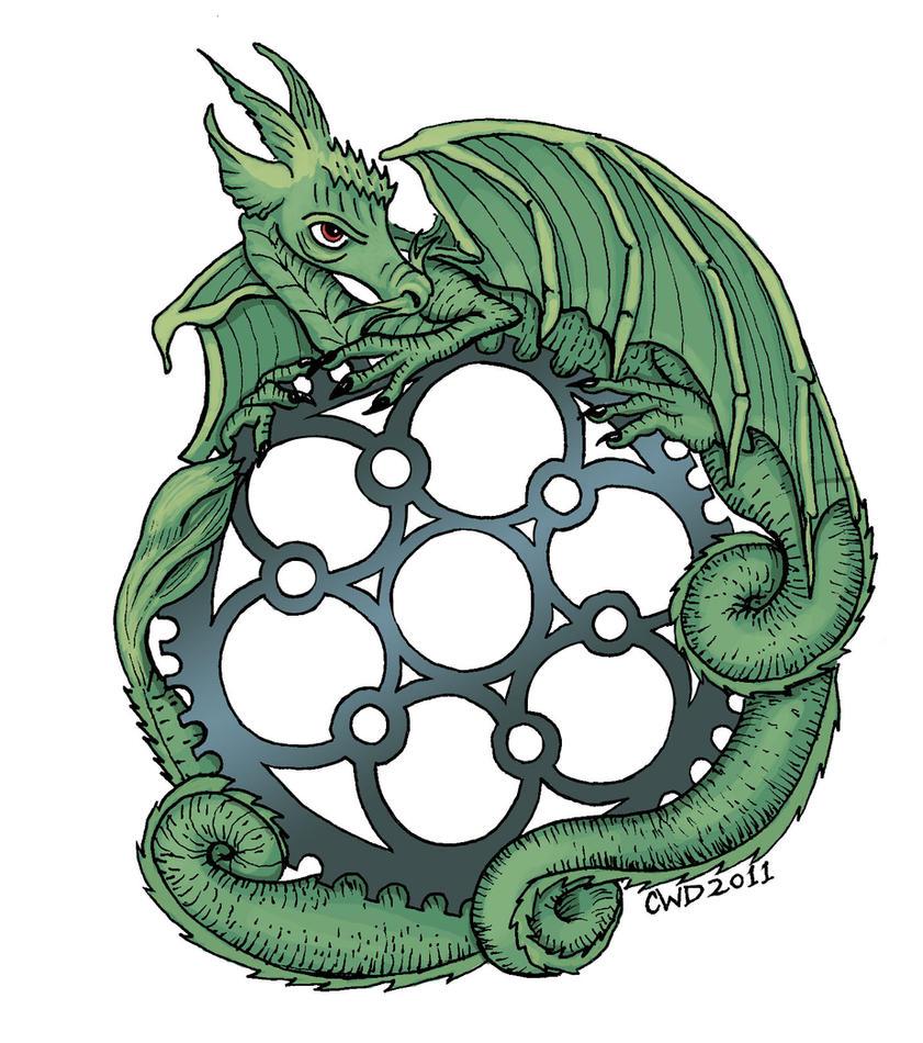 Dragon mandala by carolynwatsondubisch on deviantart - Mandala dragon ...