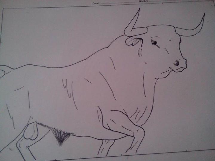 Dibujo Toro De Lidia By Veraensumundo On Deviantart
