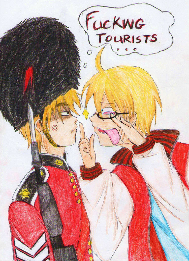 APH: USUK Fucking Tourists by AlienaxD