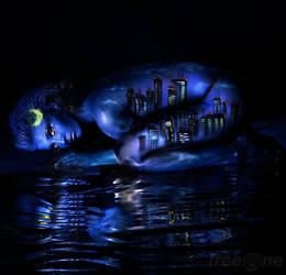 Night City by free0ne