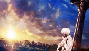 Sleepless Til Dawn - Kaneki Ken by 34Kai