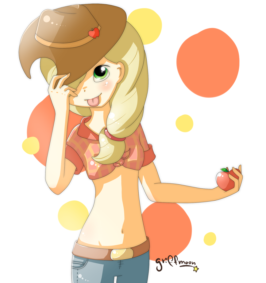 Applejack by griff-chii