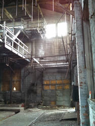 Coal plant inside by AbandonedNy